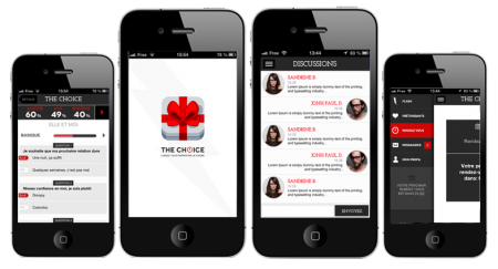 Application rencontres smartphone