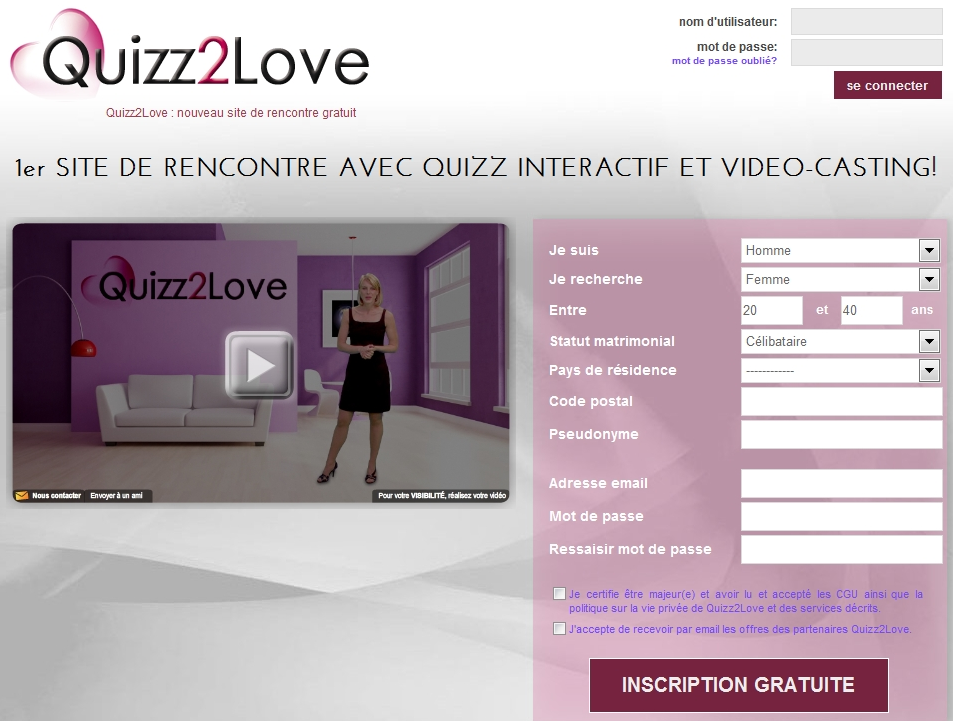 Site de rencontre love time
